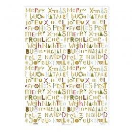 geschenkpapier mit weihnachtssternen gr tz verlag. Black Bedroom Furniture Sets. Home Design Ideas