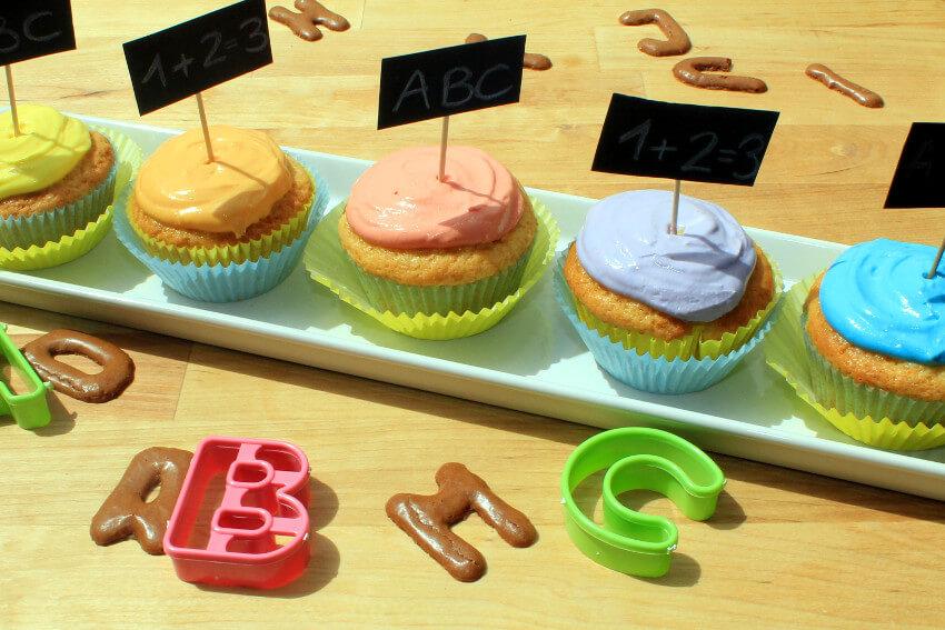 muffins zur einschulungsfeier