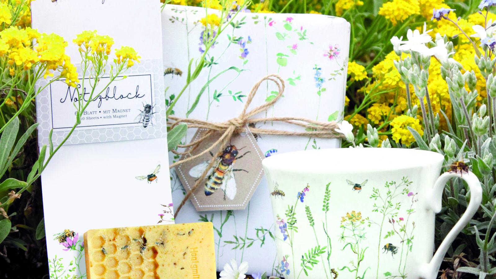 Grätz Verlag unterstützt Wildbienen mit neuer Kollektion – Kreative Ideen für den Bienenschutz
