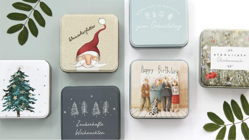 Kreative Geschenkdosen aus dem Grätz Verlag