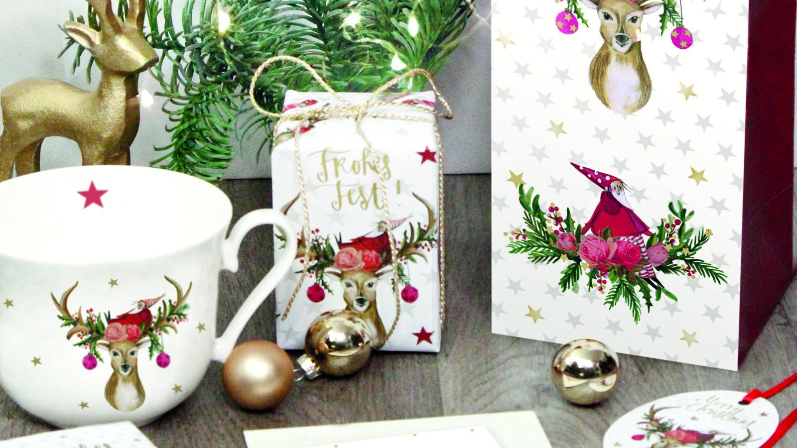 "Silke Leffler illustriert Weihnachtsedition ""Frohes Fest"