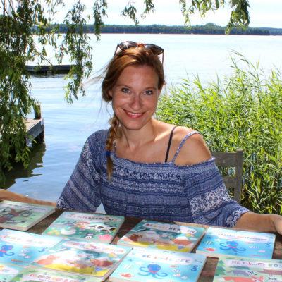 Illustratorin Nastja Holtfreter im Grätz Verlag