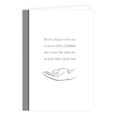 Trauerkarte schreiben – Kartenauswahl