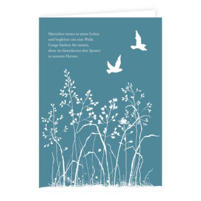 Trauerkarte schreiben – Auswahl an Beileidskarten