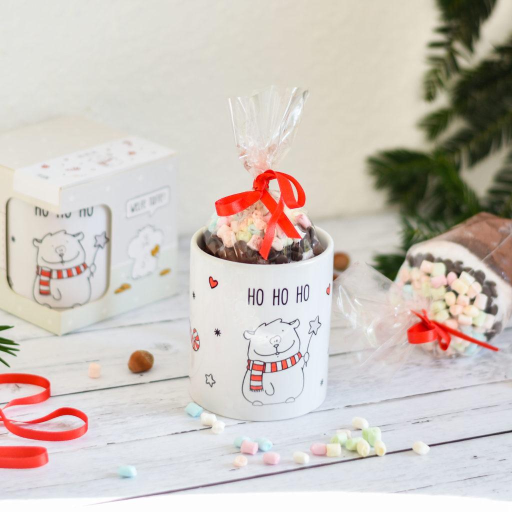 selbstgemachte Geschenke für Kakaoliebhaber mit Lieblingstasse
