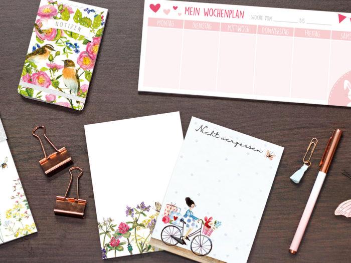 gut organisiert ins neue Jahr mit Produkten vom Grätz Verlag