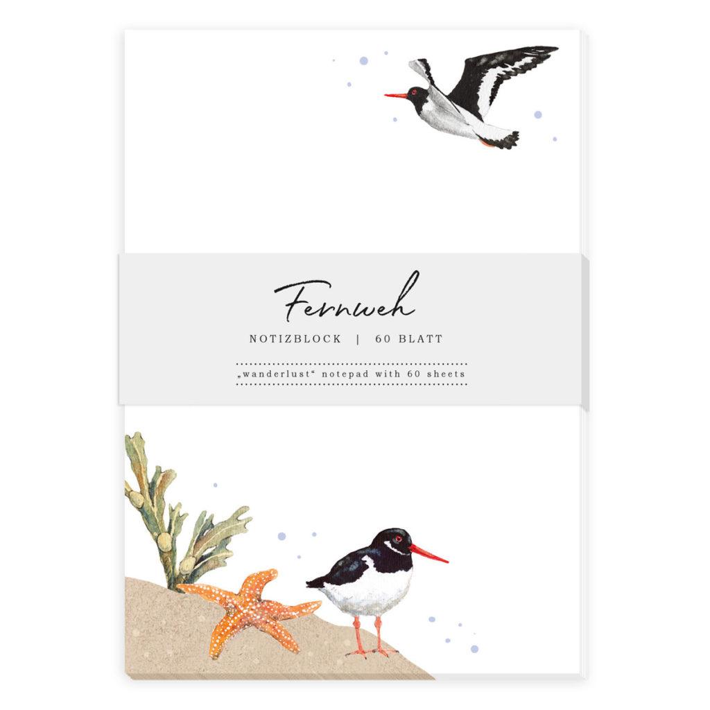 Notizblock mit Daniela Drescher Illustration vom Grätz Verlag