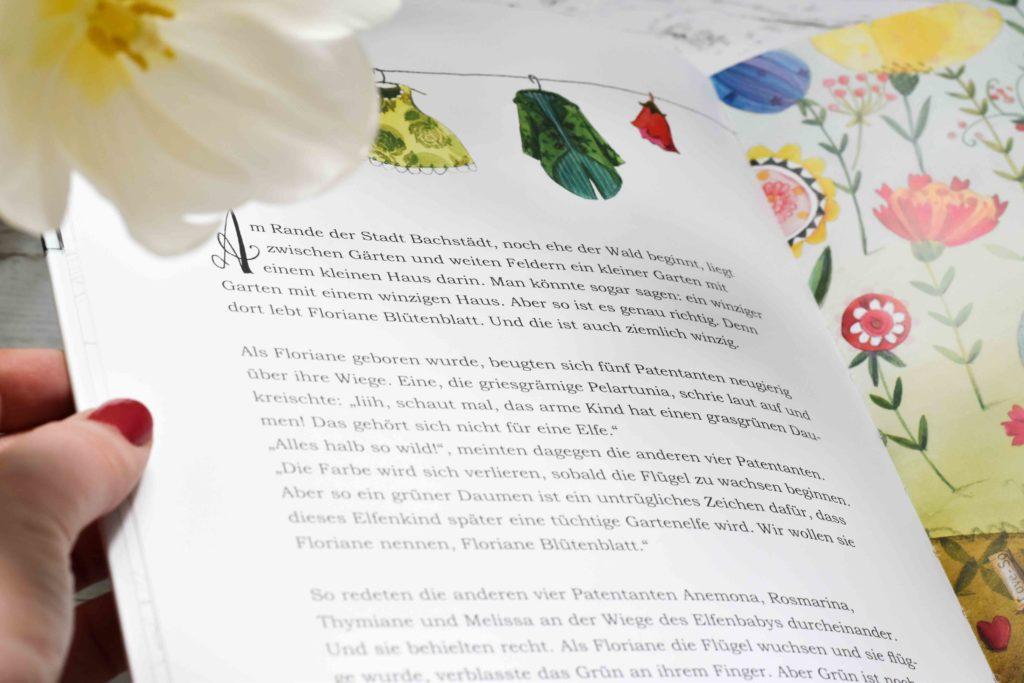 Floriane Blütenblatt modernes Märchen aus dem Grätz Verlag