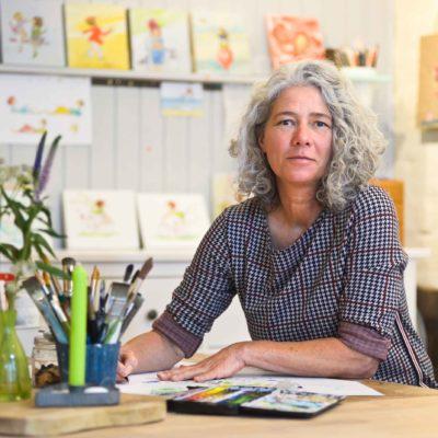 Illustratorin im Graetz Verlag Karin Tauer