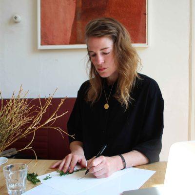 Illustratorin Katrin Reidegeld zeichnet Grätz Verlag