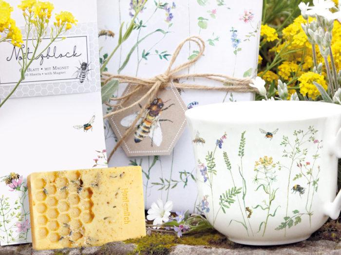 Wildbienen Kollektion im Grätz Verlag für Bienenretter