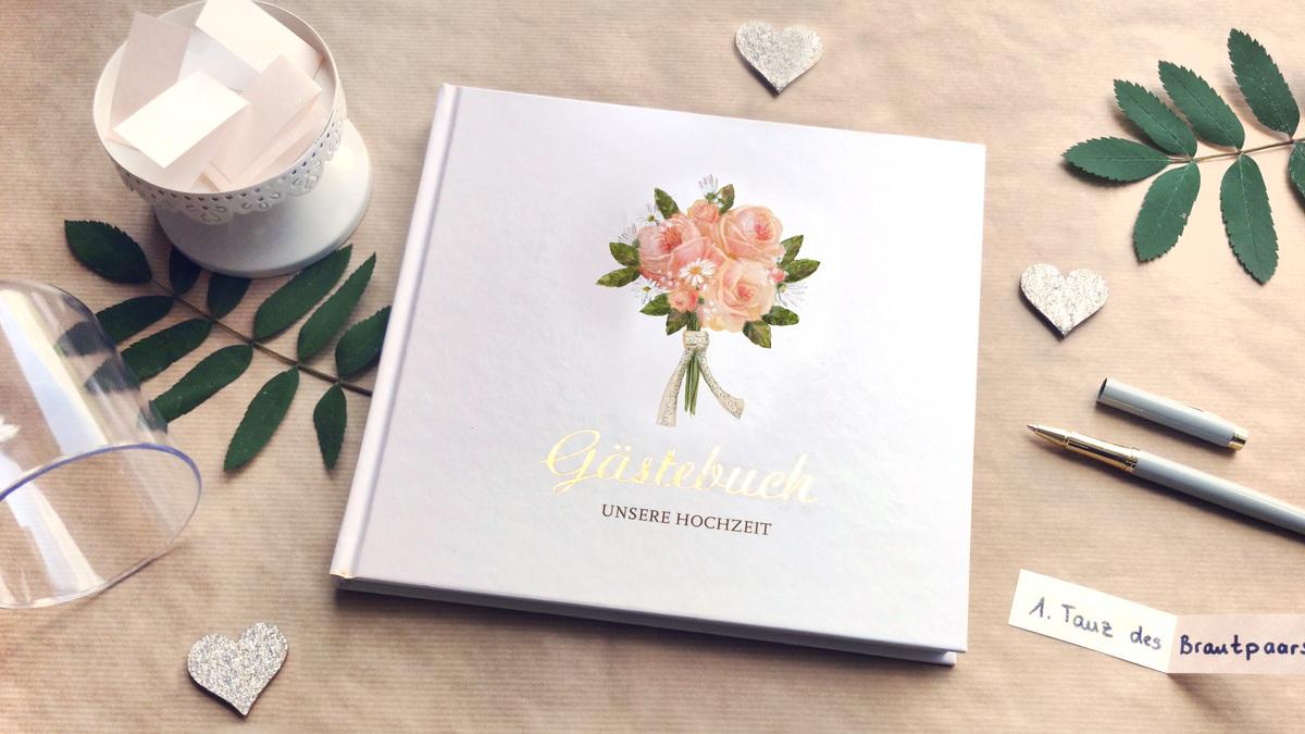 5 Ideen für dein Hochzeitsgästebuch