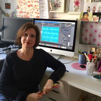 Illustratorin im Grätz Verlag Stefanie Krauss