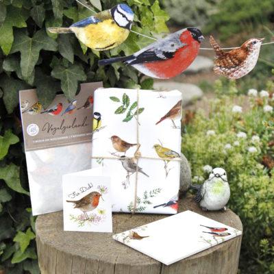 Kollektion Gartenvögel Plastikfrei verpackt