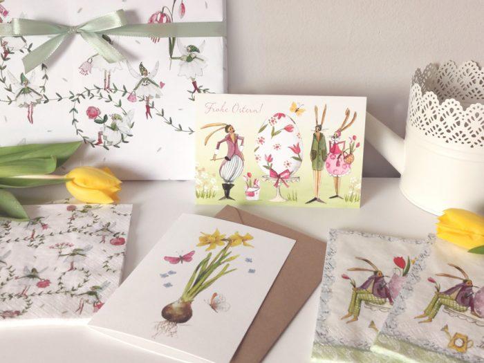 Ostergrüße und Osterpost Ideen aus dem Grätz Verlag zum Frühling