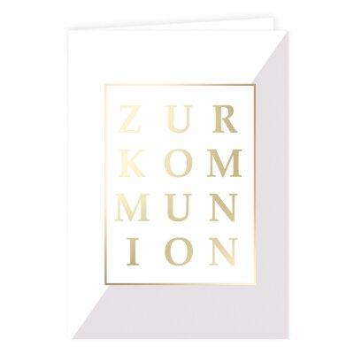 Kommunion Karte Text.Karten Zur Kommunion