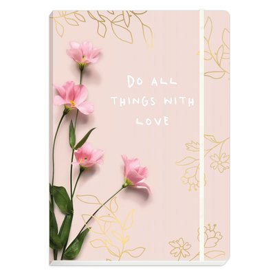Notizbuch DIN A5 Do all things with love