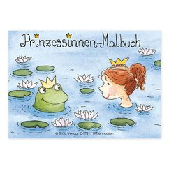Mini-Malbuch Prinzessinnen