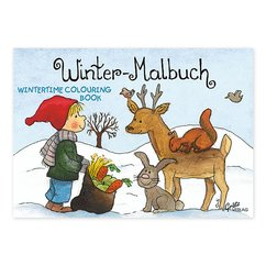 Mini-Malbuch Winter